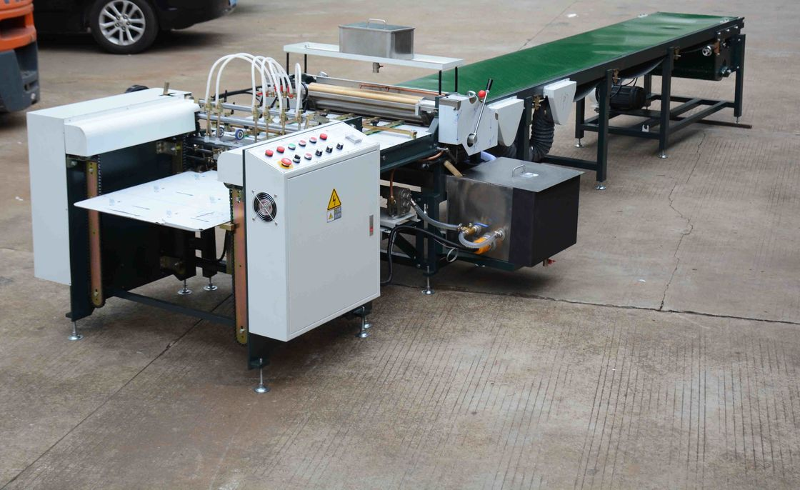 Feida Feeding Gluing Machine WM-850A Automatic Gluing Machine for Box Wrapping Paper