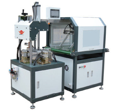 Simple Automatic Rigid Box Making Machine / Air Bubbles Machine With Manipulator